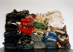 all my clothes, organized. 2007